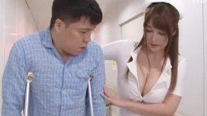 《益坂美亜/巨乳ナースレイプ》ノーブラ爆乳おっぱいで発情勃起させちゃうJカップナース