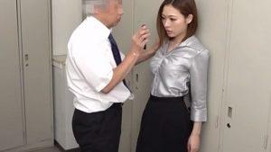 《本田岬/巨乳秘書中出しレイプ》上から目線の生意気秘書を動画で脅しレイプ中出し